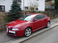Alfa Romeo GT - Tónování autoskel pomocí autofólie