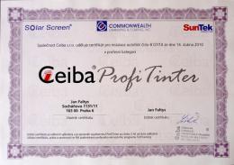 Ceiba Profitinter - nejvyšší možná kvalifikace v oblasti autofólií
